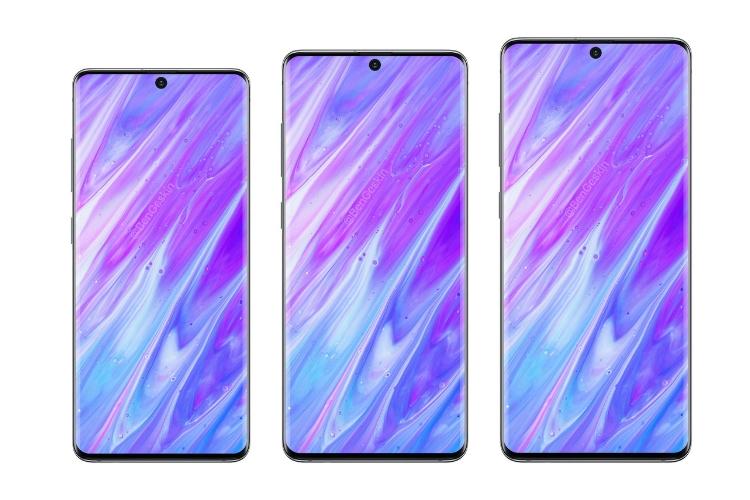 Samsung Galaxy S11 lineup renders