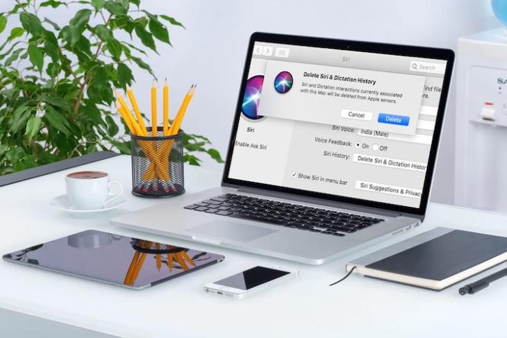 How to Delete Siri and Dictation History in macOS Catalina