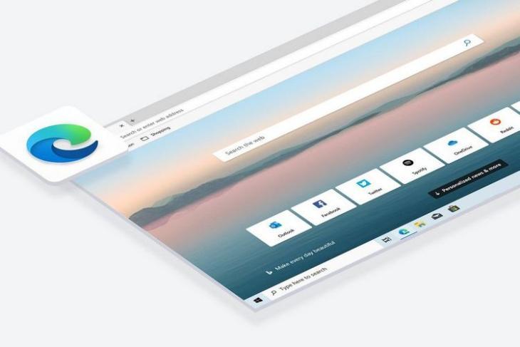 MS Edge Browser website