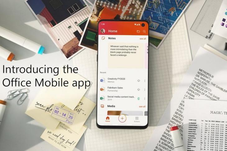 MS Office mobile app website