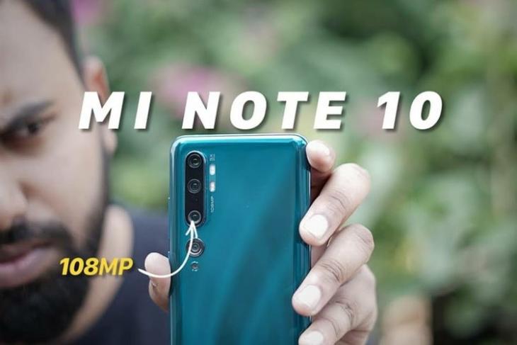 Mi Note 10 108MP website