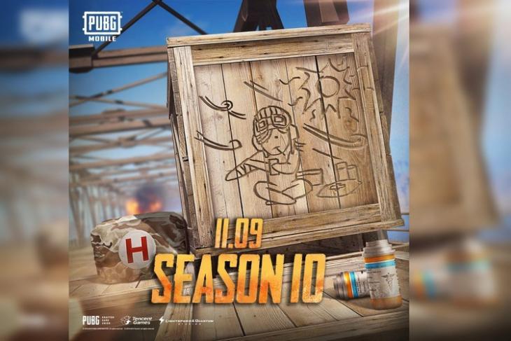 PUBG Mobile Season 10 website