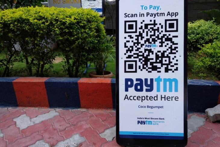 Paytm logo shutterstock website