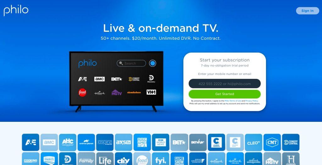 Philo Live TV
