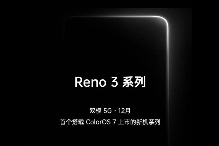 Reno 3 First phone to launch with ColorOS 7 dual mode 5G support