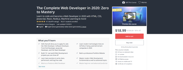 The-Complete-Web-Developer-in-2020-Zero-to-Mastery