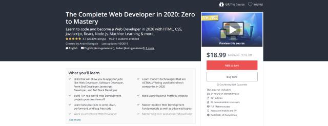 The-Complete-Web-Developer-in-2020-Zero-to-Mastery