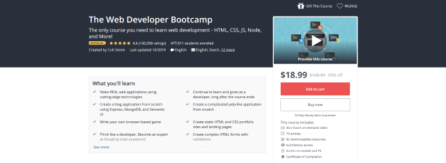 The-Web-Developer-Bootcamp