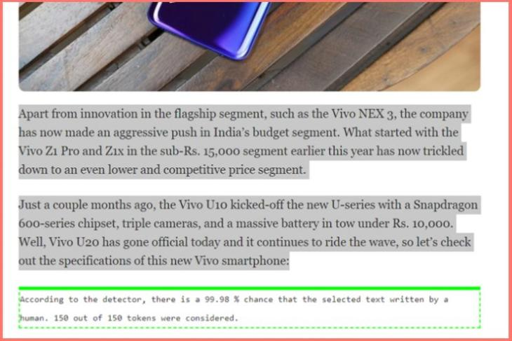 This Chrome Extension Helps You Identify Text Generated by AI