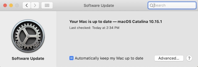 Update Software on Your Mac