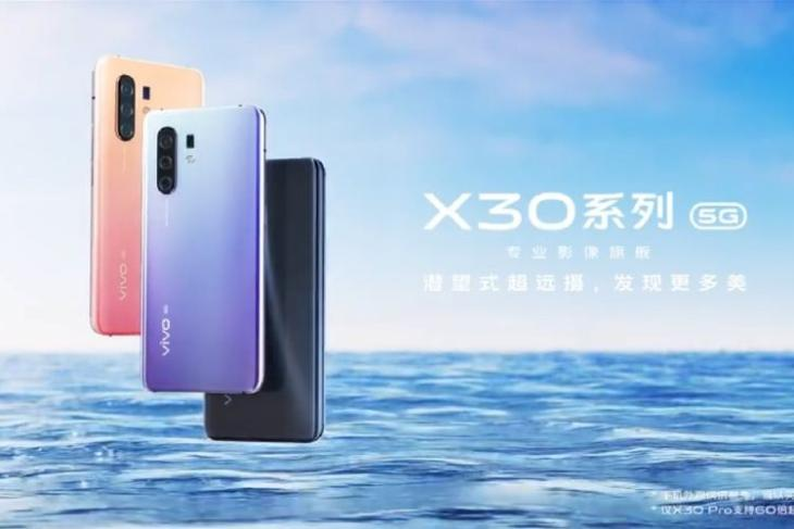 Vivo X30 teasers confirm design, punch-hole display, 60x zoom