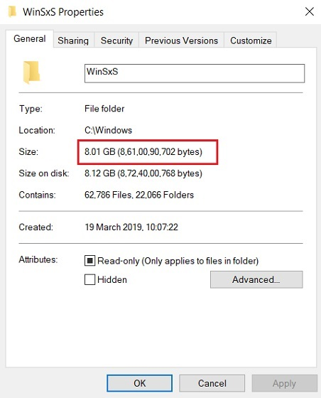 What Exactly is WinSxS Folder