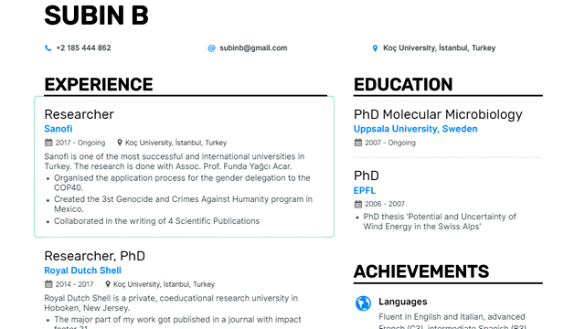 This AI Generates a Professional Resume for You