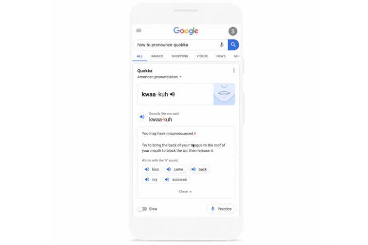 google search pronunciation helper featured