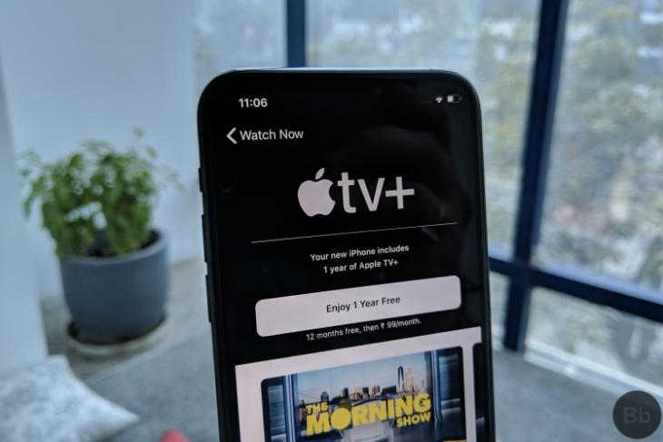 how to get free apple TV+ subscription