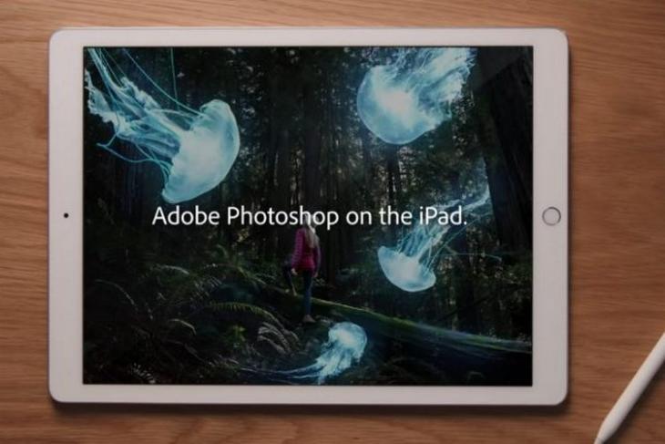 iPad Photoshop website