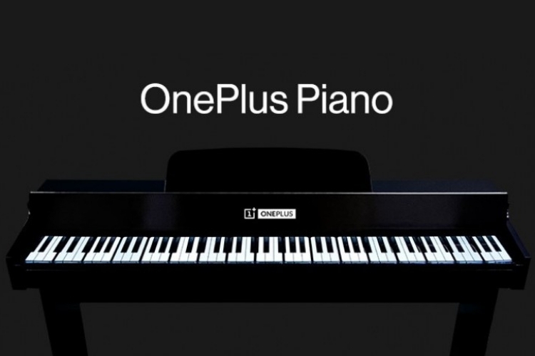 OnePlus Makes a Real-Life Piano Using 17 OnePlus 7T Pro Phones