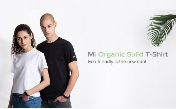xiaomi launches mi organic t-shirt in India