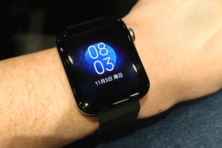 xiaomi mi watch launched in China