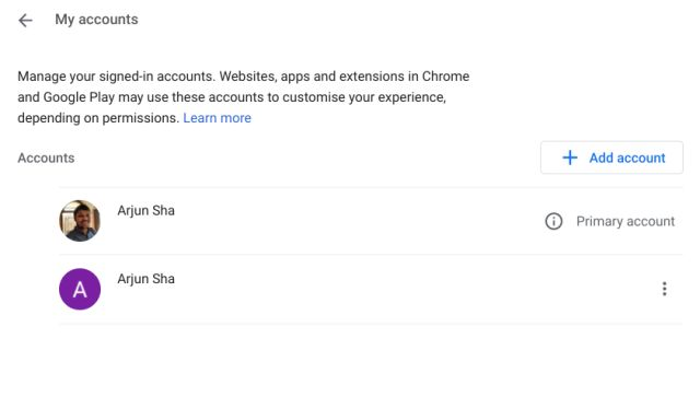 11. Add a Secondary Google Account Inside the Existing One