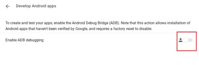 26. Enable ADB on Chrome OS (Android Debugging Bridge)