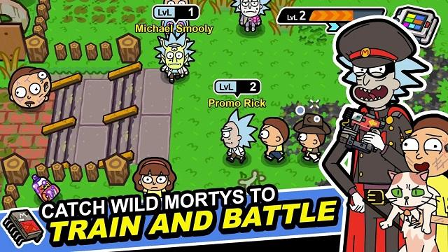 9. Rick and Morty: Pocket Mortys