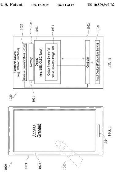 Apple Patent Suggests iPhone 12 May Ship With In-Display Fingerprint Scanner