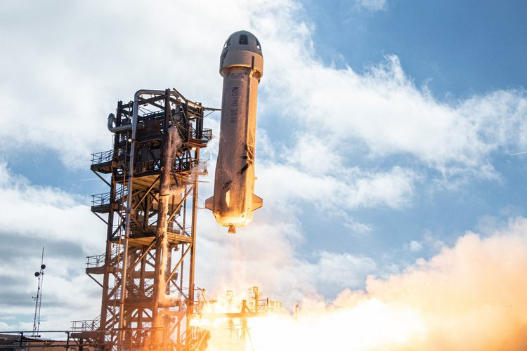 Blue Origin Gets Closer to Space Tourism with 12th New Shepard Launch