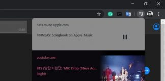 Chrome 79 gets media playback controls