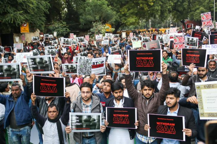 Delhi Protest shutterstock website