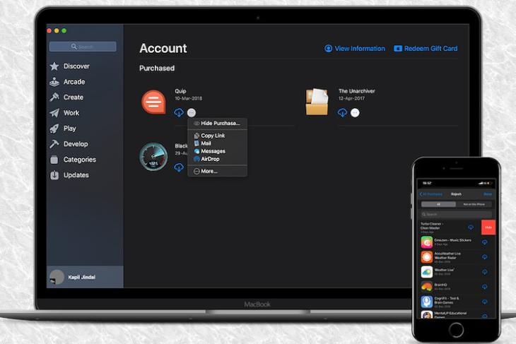How to Hide/Unhide Store Purchases on iPhone, iPad, and Mac