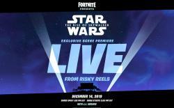 Fortnite Star Wars collab website