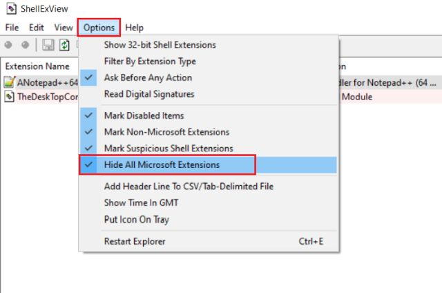 How to Customize the Right-click Menu on Windows 10 ShellExview
