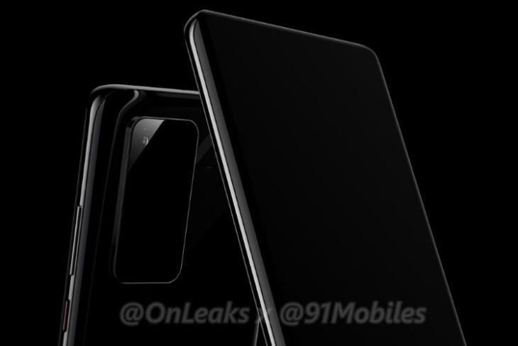 Huawei P40 Pro design render