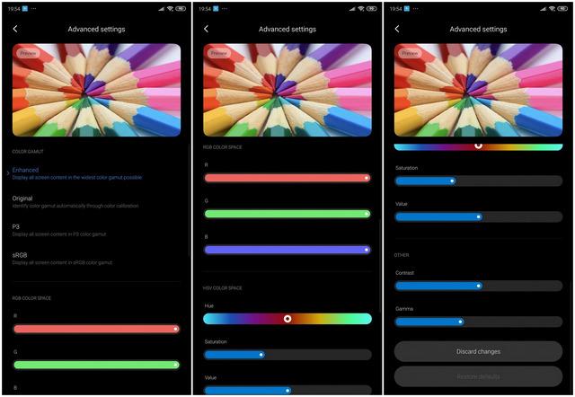 MIUI 11 May Soon Get Advanced Display Calibration Controls