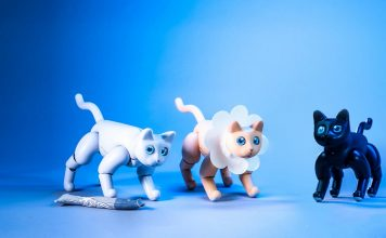 MarsCat Is a Robotic Pet Cat; Available on Kickstarter