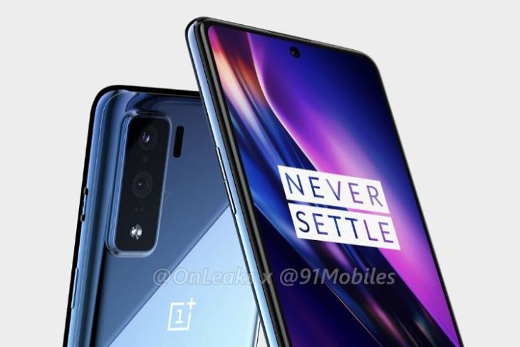 OnePlus Z renders show off punch-hole display, dual cameras