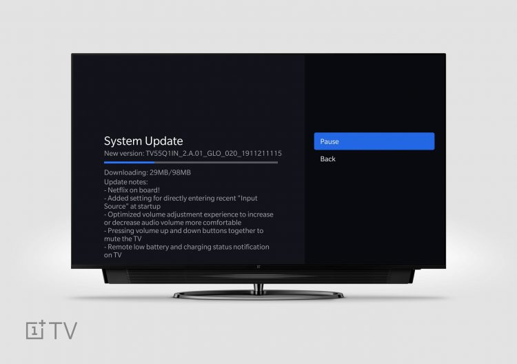 OnePlus TV Finally Gets Netflix Support with Latest Update