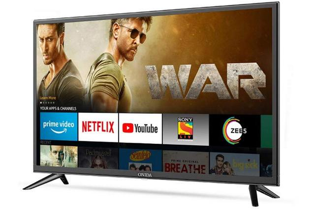 Amazon, Onida Tie-Up to Launch 'Fire TV Edition' Smart TVs in India