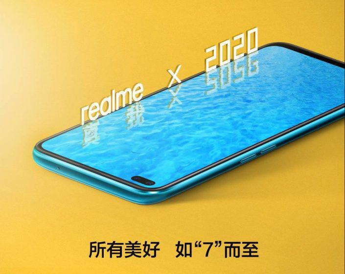 Realme X50 - dual-camera punch-hole display