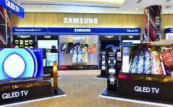 Samsung QLED TV shutterstock website