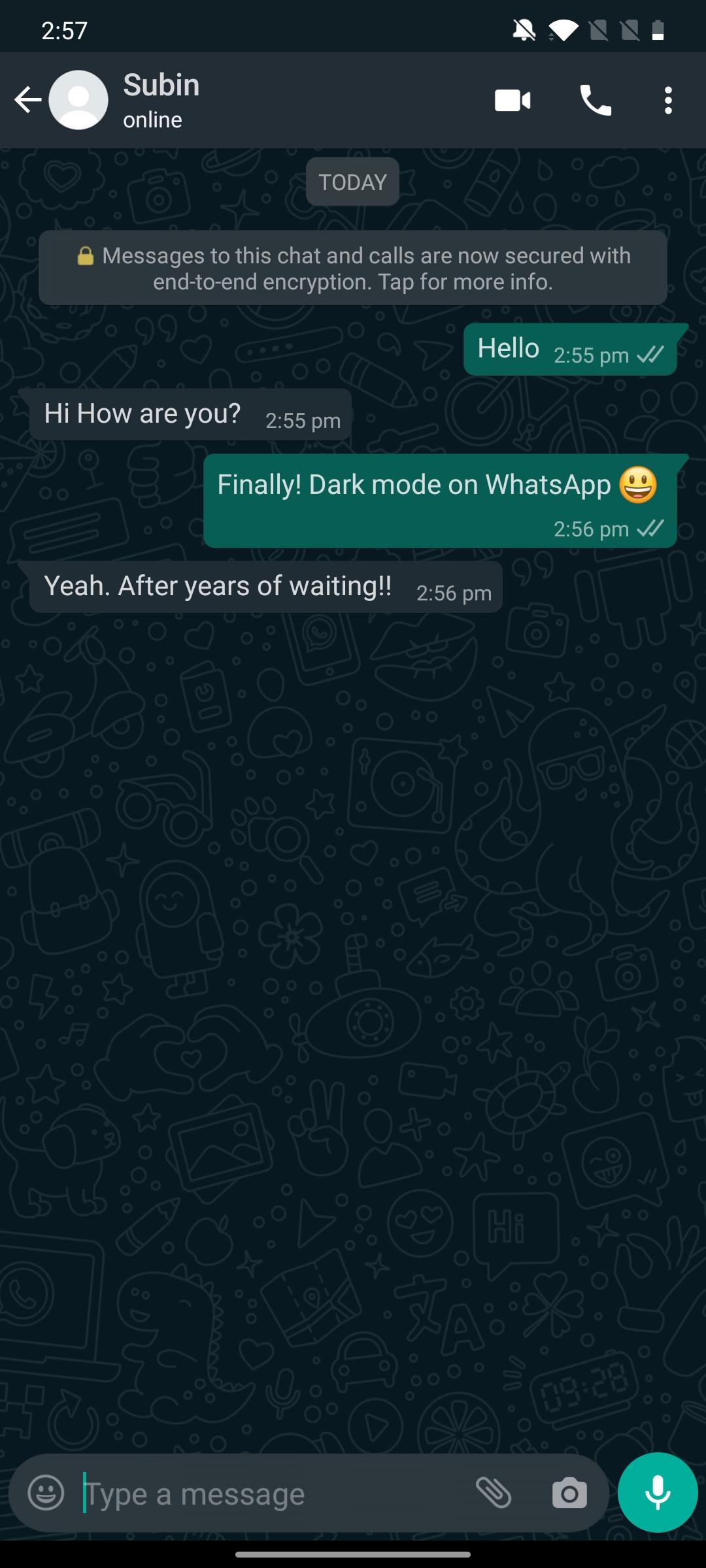 Official Dark Mode