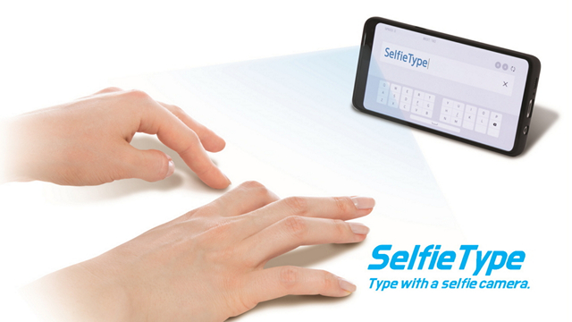 SelfieType Samsung CES 2020