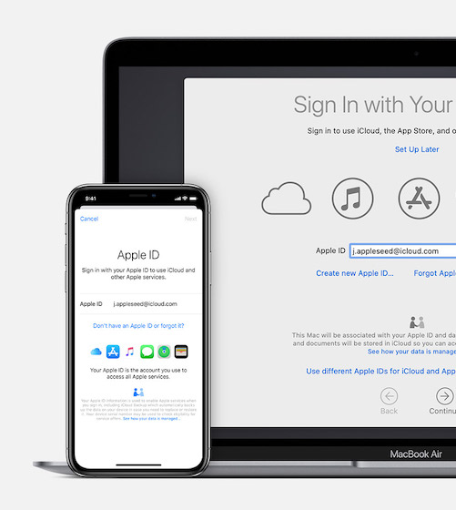 Sign In to Apple ID