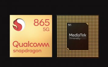 Snapdragon 865 vs Dimensity 1000
