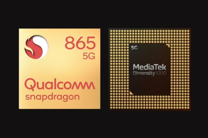 Snapdragon 865 vs Dimensity 1000