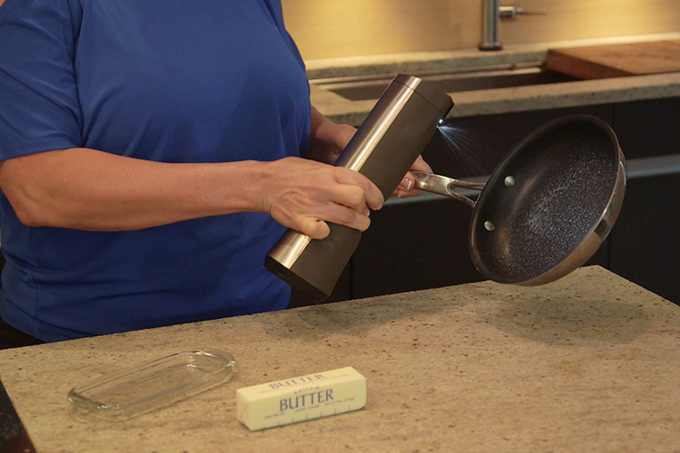 This Gadget Converts a Stick of Butter into Spray