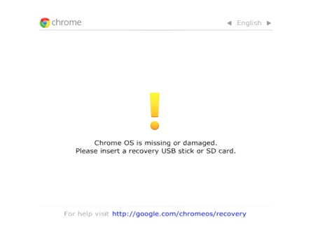 Turn On Chromebook