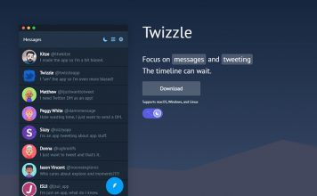 Twizzle Is a Desktop App for Twitter DMs