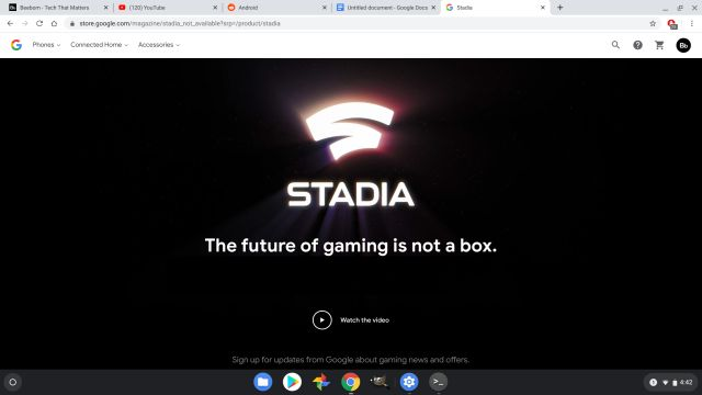 google stadia What is a Chromebook Everything You Need to Know 10